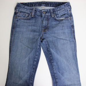 7 For all Mankind A Pocket Boot cut Jeans Sz 27
